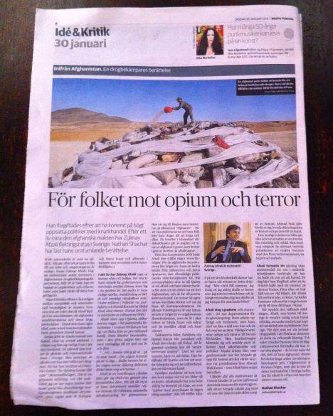 Artikel om Zulmay 30.1 2013