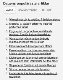 Zulmays artikel etta på Newsmill 23.4 2013