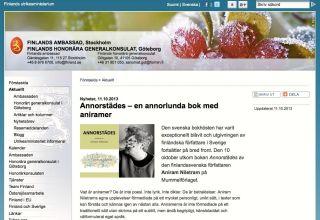 Om Annorstädes Finlands ambassad