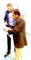 Martin Kits och Zulmay Afzali