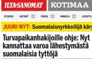 Turvapaikanhakijoille ohje Ilta-Sanomat 25.11 2015