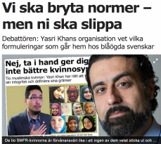 Nima i Aftonbladet 26.4 2016